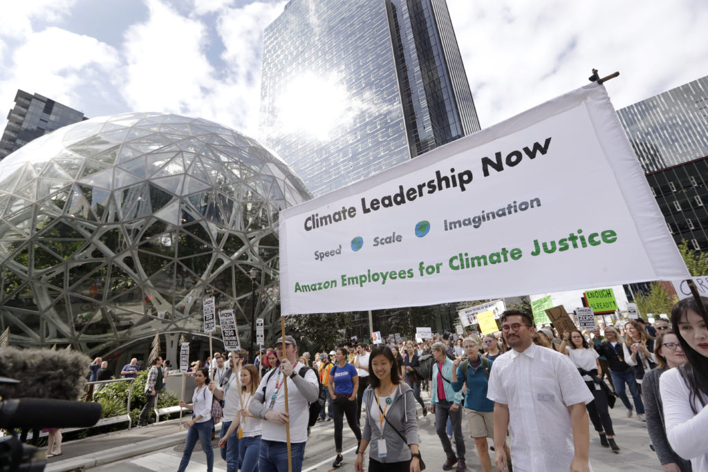 Jeff Bezos donating $10 billion to fight climate change