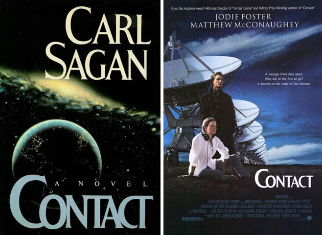 Image result for carl sagan contact movie