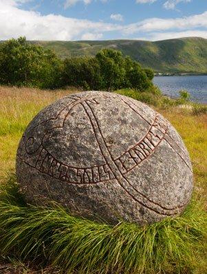 round rune stone