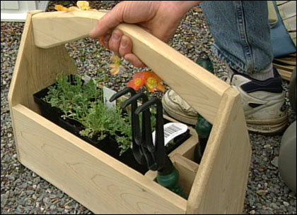 The Victory Garden Grow Tools Tool Organizers PBS