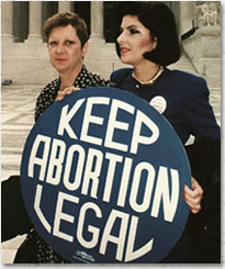 Photo of Norma McCorvey, a.k.a. Jane Roe.