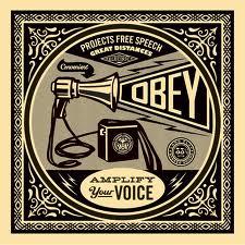 megaphone amplify your voice