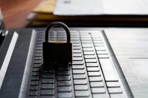 Lock on Laptop