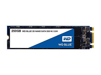 Western Digital Blue 250GB M.2 2280 SATA3 SSD [WDS250G2B0B]