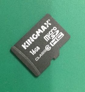 KINGMAXスマホMicroSDカードが認識なくなった際のデータ復旧