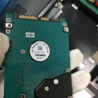 起動しなくなった東芝ノートPC B551/23Dのデータ復旧