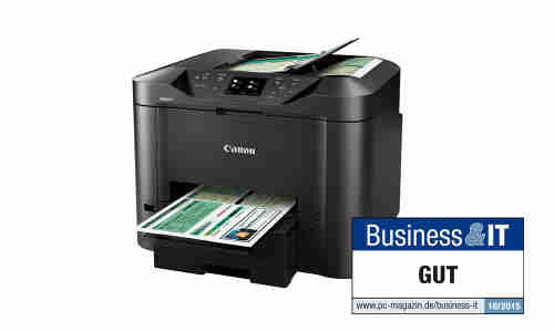 Canon Maxify Mb5350 Im Test Office Drucker Pc Magazin