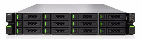 QSAN XCubeNAS 2U 12-Bay + 4 SSD Unified Enterprise SAN & NAS - XN8012R. PC PitStop Data Storage Solutions - SAS Enclosures, DAS, NAS, iSCSI & FC SAN