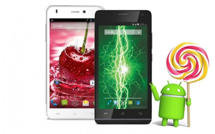 Lava Iris Fuel 50 and Iris X1 Grand starts receiving Android 5.0 Lollipop update