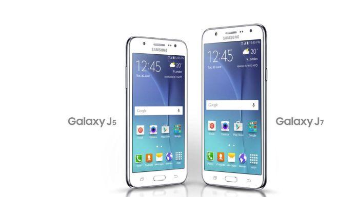 Galaxy J5 and Galaxy J7