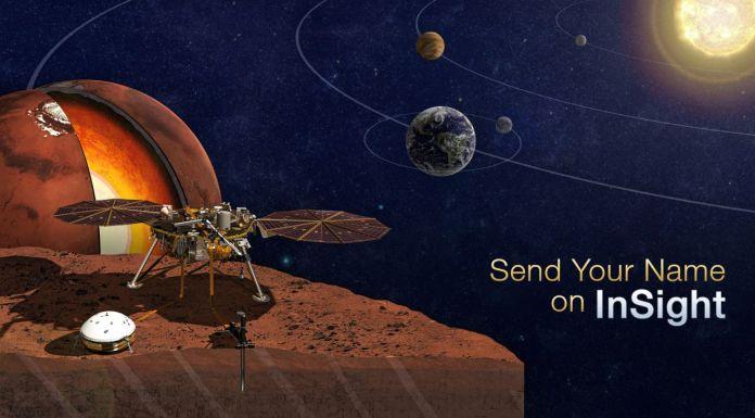 NASA Send You Name To Mars