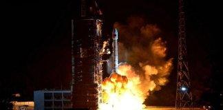 China launches Long March rocket lifting ChinaSat 2C communication satellite