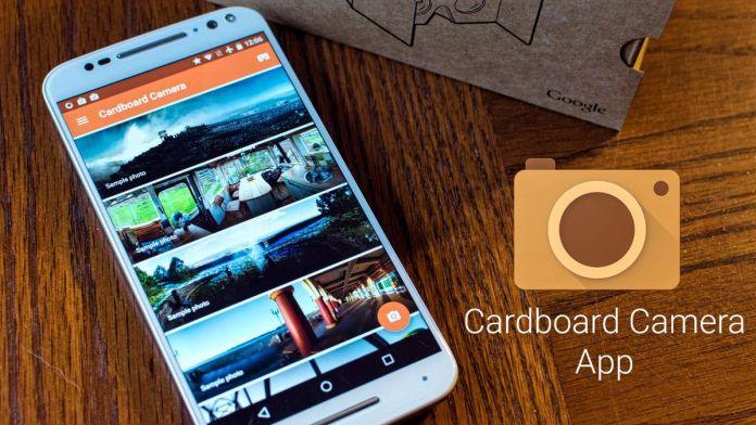 Google cardboard camera app