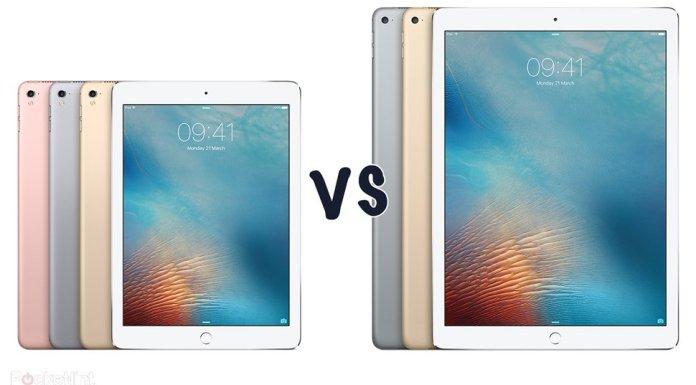 Apple iPad Pro 12-inches Vs iPad Pro 9.7
