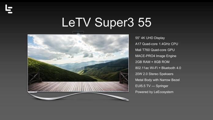 LeTv Super3 55