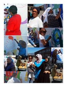 Painting Community Collage