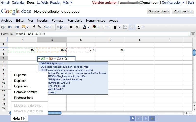 Google Docs Truco 6