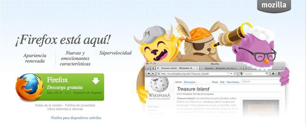 Firefox pantallazo