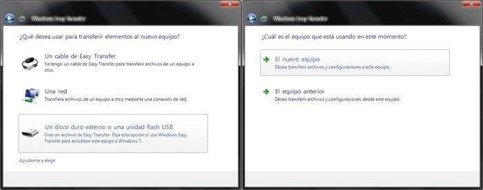 Práctico Windows Easy Transfer 3