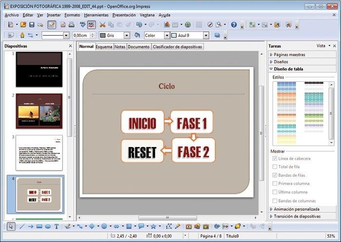 openoffice vs libreoffice 7 618x438 Comparativa frente a frente OpenOffice vs LibreOffice
