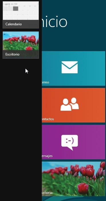 Windows 8 multitarea