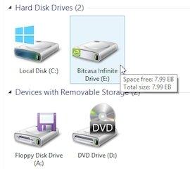 Bitcasa Infinite Drive