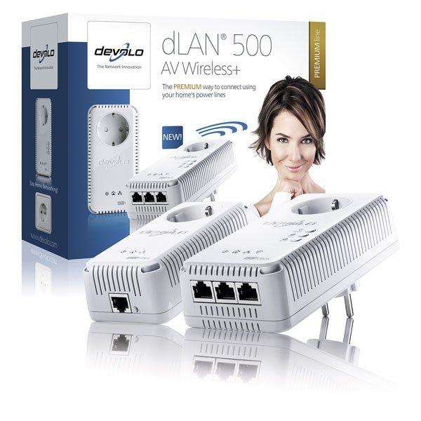 dLAN 500 AV Wireles+