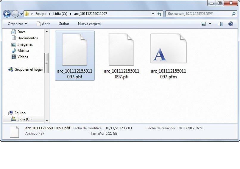 Herramientas de imágenes de disco pruebas 2