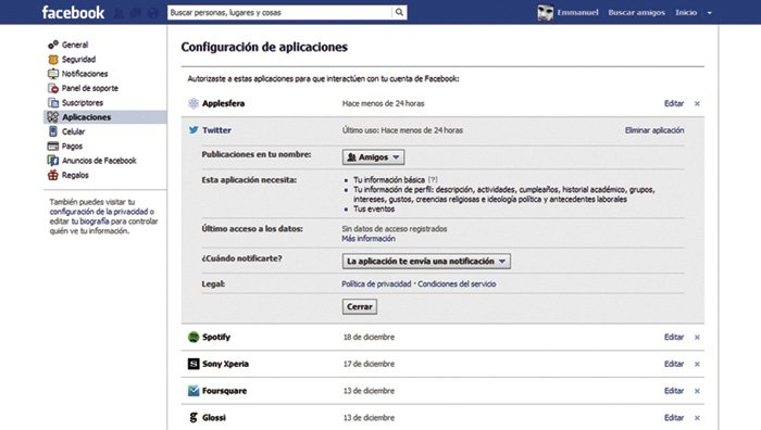 Facebook configurar perfil 7