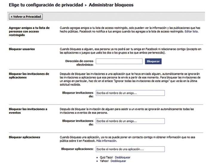 Facebook configurar perfil 9