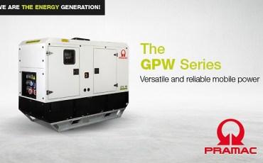 Pramac lanza una nueva línea de generadores mobile diésel