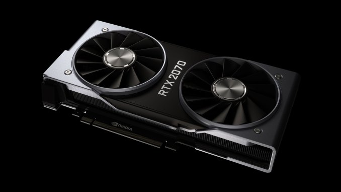 Nvidia Turing RTX 2070 Founders Edition