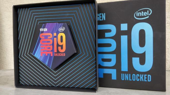 Intel Core i9-9900K Reviewers Box