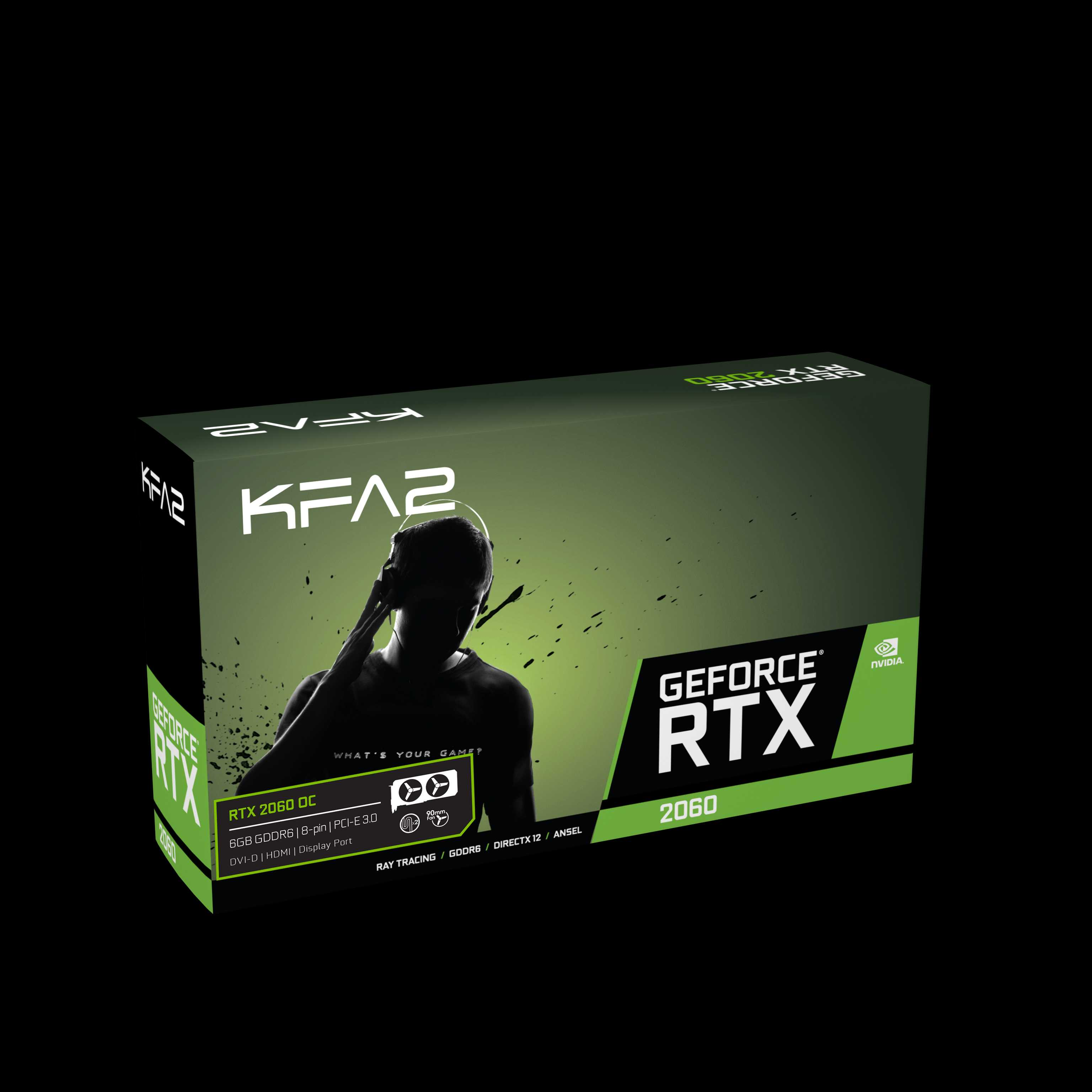 KFA2 GeForce RTX 2060 1-Click-OC