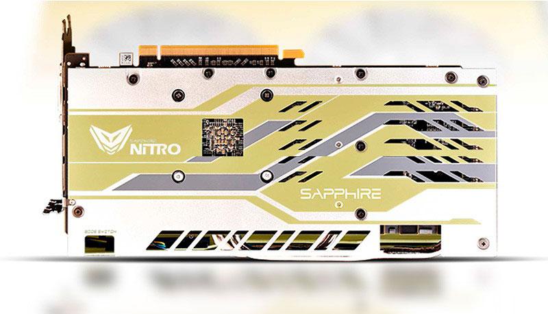 Sapphire Radeon RX 590 Nitro+ 50th Anniversary Edition