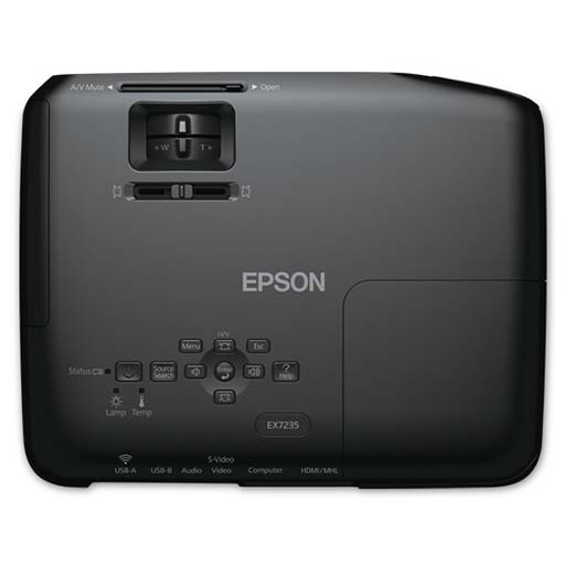 Epson EX7235 Pro Wireless HD WXGA 3LCD Projector