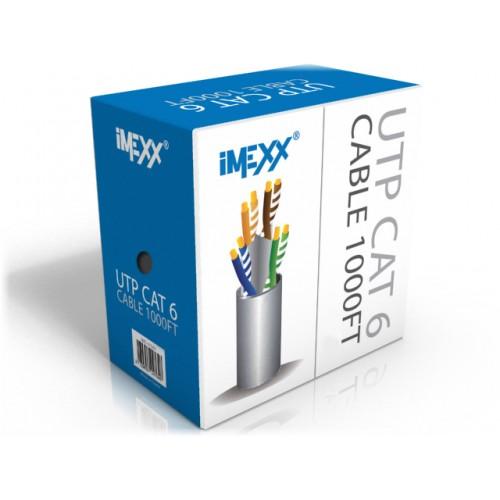 utp cat6 1000ft  cable box (imexx)