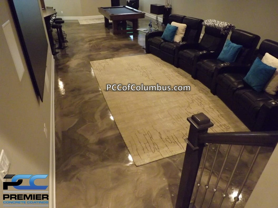 Basement Flooring Options Epoxy Finish