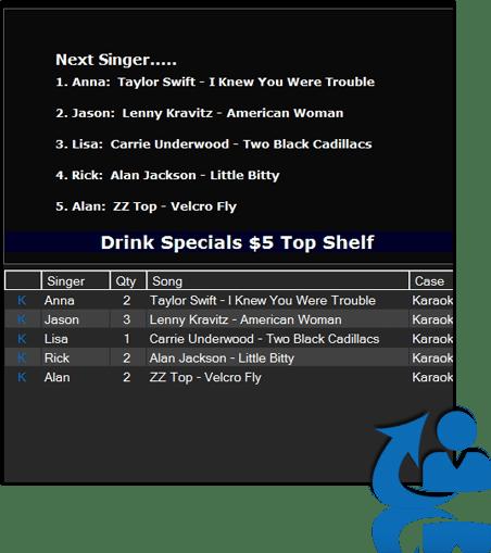 Singer list