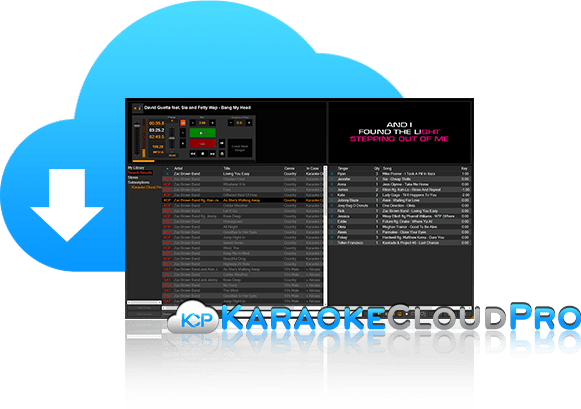 Karaoke Cloud Pro With PCDJ Karaoki Software