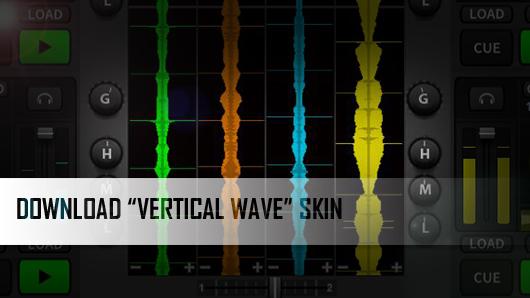 DJ Software: Download New DEX 3 2 Skin With Vertical Waveforms | PCDJ