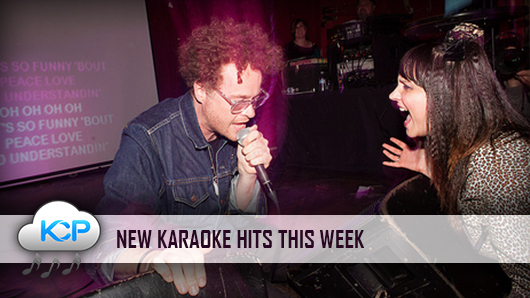Karaoke hits in Karaoke Cloud Pro March 2016