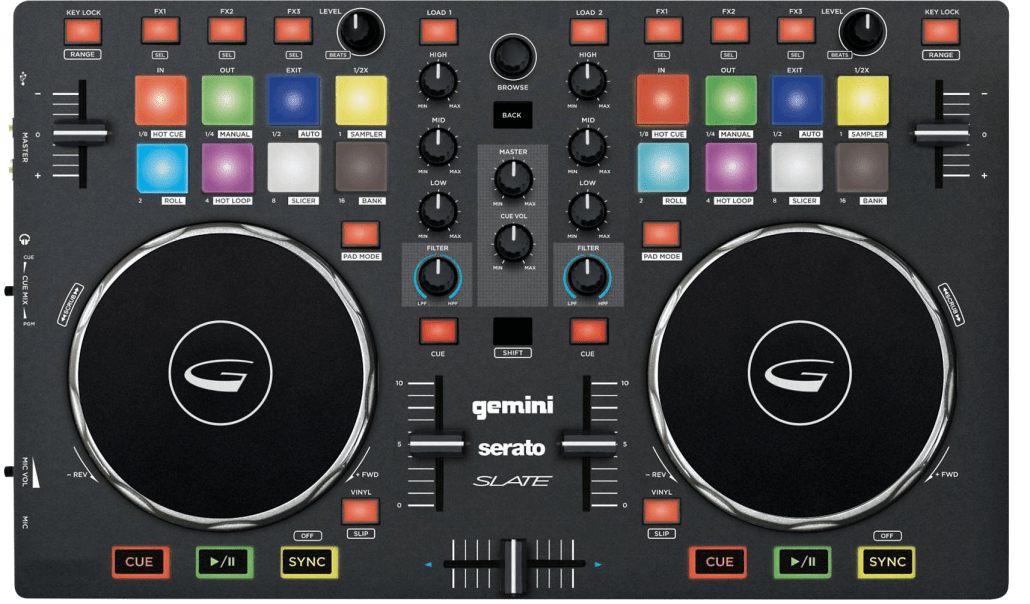 DJ Controllers | Download DEX 3 Map For The Gemini Slate | PCDJ