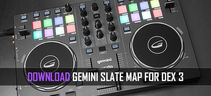 Gemini Slate Map for PCDJ Download