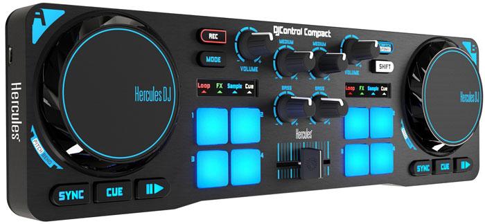 DJ Controllers | Download Hercules DJControl Compact Map For DEX 3