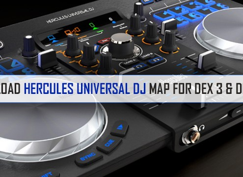 Hercules Universal DJ Map Download for PCDJ