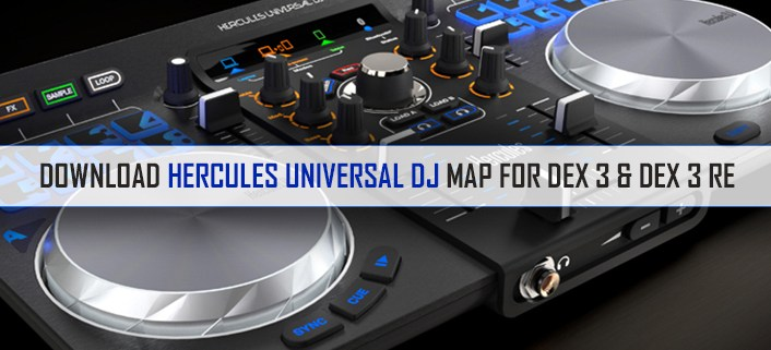 Hercules Universal DJ Map Download for PCDJ