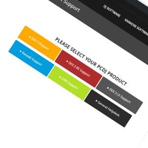 PCDJ support ticketing system