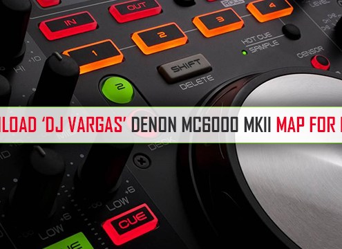 Download DJ Vargas MC6000 MKII MAP For DEX 3