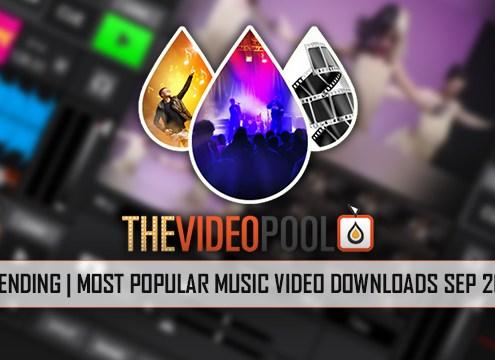 Most Popular Music Videos September 2016